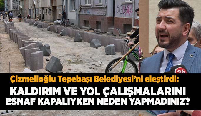 AK Partili Çizmelioğlu: Belediye kısıtlamalardan muaf değildi