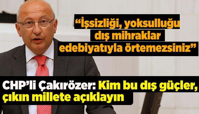 AK Parti'nin 'dış mihraklar' söylemi Meclis gündeminde