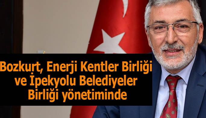 Bozkurt, Enerji Kentler Birliği ve İpekyolu Belediyeler Birliği yönetiminde