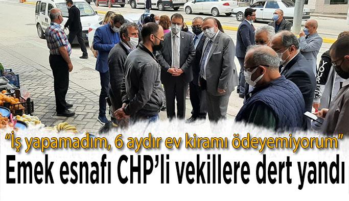 CHP'nin Ekonomi Masası Ertaş Caddesi esnafını dinledi