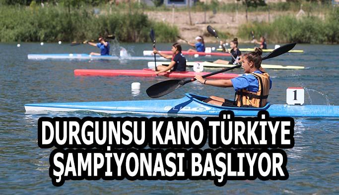 Durgunsu Kano Türkiye Şampiyonası yarışları başlıyor