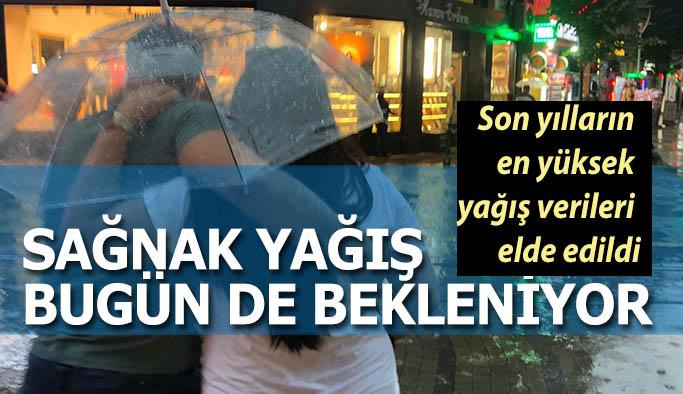 Eskişehir'de sağnak yağış devam edecek