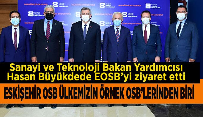 Hasan Büyükdede: Eskişehir OSB, yeni yatırımlarla daha da büyüyecek