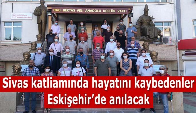 Sivas'ta katledilenler anılacak