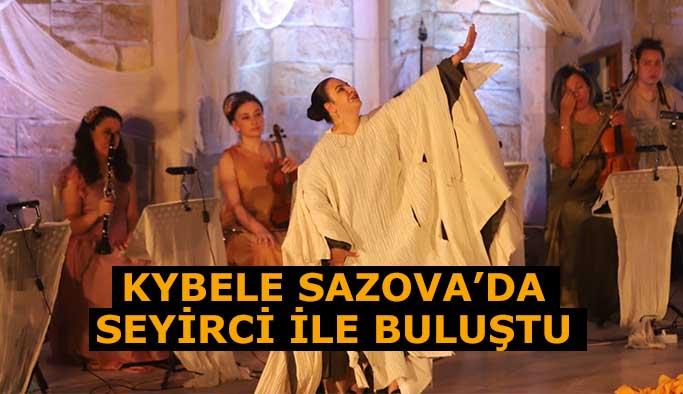 Kybele Sazova'da  seyirci ile buluştu