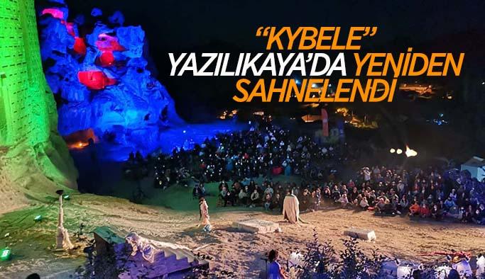 Şehir Tiyatroları ve Senfoni Orkestrasının ortak projesi Kybele'ye yoğun ilgi