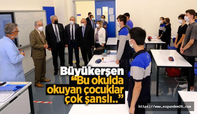 EOSB'nin okulu Büyükerşen'den tam not aldı