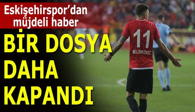 Eskişehirspor'dan müjdeli haber