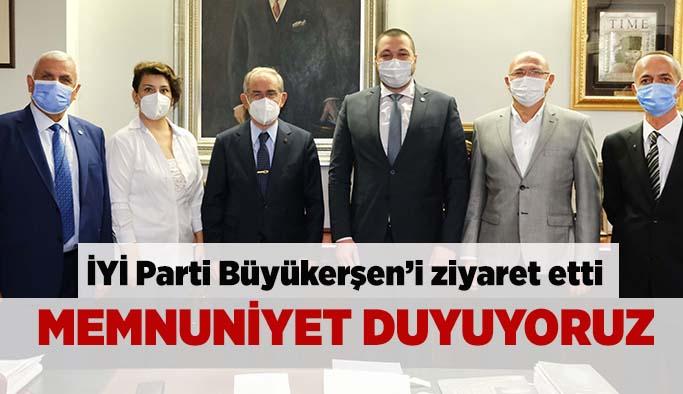 İYİ Parti Büyükerşen'i ziyaret etti
