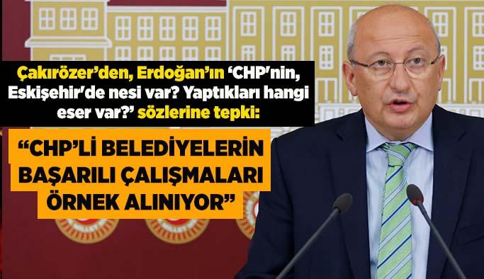 Çakırözer'den Erdoğan'ın o sözlerine tepki