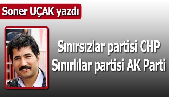 CHP'nin sınırı yok AK Parti'nin odası bol