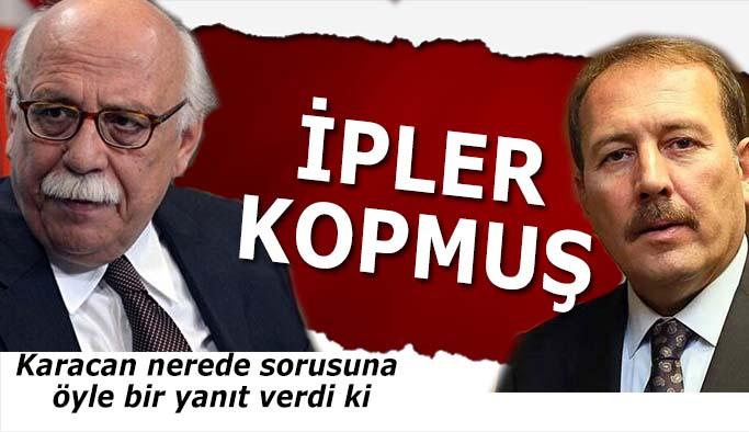 Harun Karacan sorusuna Ahmet Ataçlı Kazım Kurtlu yanıt