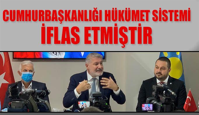 İYİ Parti İyileştirilmiş Ve Güçlendirilmiş Parlamenter Sistem Seferberliği Eskişehir'de start aldı