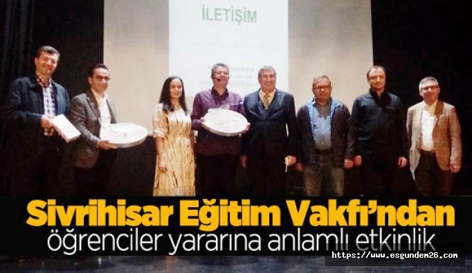 SEV, eğitimci yazar Alişan Kapaklıkaya'yı ağırladı