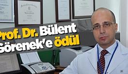 Prof. Dr. Bülent Görenek'e ödül