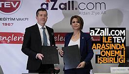 aZall.com ve Türk Eğitim Vakfı gençlerin geleceği için protokol imzaladı