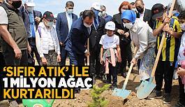 """ESKİŞEHİR'DE """"SIFIR ATIK KAZANIMLARI ORMANI"""" OLUŞTURULDU"""