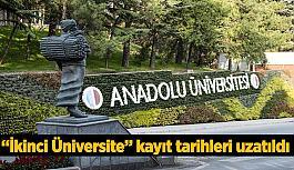 """""""İkinci Üniversite"""" kayıt tarihleri uzatıldı"""