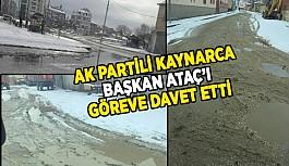 """""""BAŞKAN ARTIK İLÇESİNE, GÖREVİNE DÖNMELİ"""""""