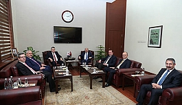 Yargıtay Birinci Başkanı İsmail Rüştü Cirit, Vali Çakacak'ı ziyaret etti