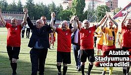 Atatürk Stadyumuna veda edildi