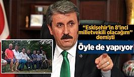 DESTİCİ ESKİŞEHİRSPOR'U YALNIZ BIRAKMIYOR