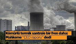 """Kömürlü termik santrale bir fren daha: Mahkeme """"ÇED"""" dedi"""