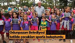 Odunpazarı Belediyesi tatilde çocukları sporla buluşturdu