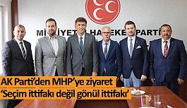 AK Parti'den ittifak ortağına ziyaret
