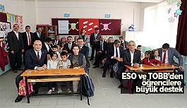ESO ve TOBB'den  yeni eğitim-öğretim yılına destek