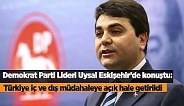 """""""Türkiye iç ve dış müdahaleye açık hale getirildi"""""""