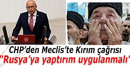 """Çakırözer: """"Kırım'daki insanlık suçlarına karşı durmalıyız"""""""