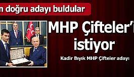 MHP Çifteler'de iddialı