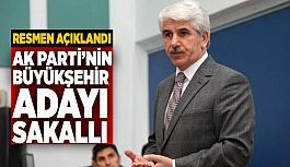 Sürpriz yok: AK Parti'nin adayı Burhan Sakallı