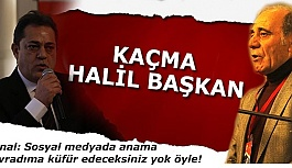 Özbayer: Kaçma Halil Başkan