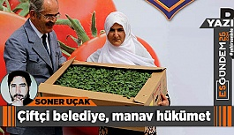 Çiftçi belediye, manav hükümet
