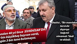 DESTİCİ MEMLEKETİ SİVRİHİSAR'DAYDI