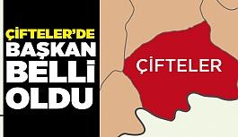 31 MART ÇİFTELER SEÇİM SONUÇLARI BELLİ OLDU!