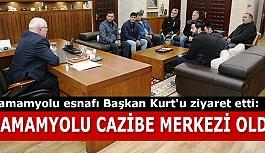 """HAMAMYOLU CAZİBE MERKEZİ OLDU"""