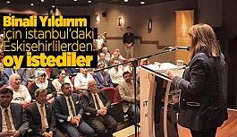 İSTANBUL' DA ESKİŞEHİRLİLER İLE BULUŞTULAR
