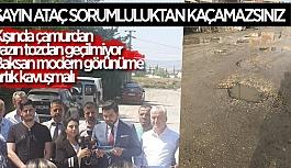 AK PARTİ'DEN ATAÇ'A BAKSAN TEPKİSİ