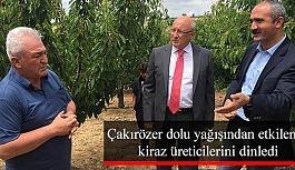 CHP'li Çakırözer'denMihallıçcık Belediye Başkanı Çorum'a tebrik ziyareti