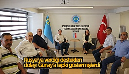 GÜNAY KIRIM DERNEĞİ'Nİ ZİYARET ETTİ