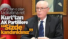 Kurt, AK Partilileri uyardı: 'Kandırıldık' demeyin