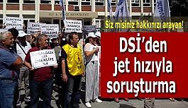 Eskişehir DSİ'den jet hızıyla soruşturma