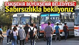 ESKİŞEHİR'İ KAZANAN ÖĞRENCİLER OTOGARDA KARŞILANACAK