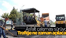 SİVRİHİSAR 2 CADDESİ ASFALTLANIYOR