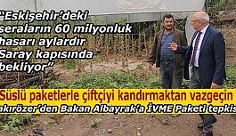 CHP'li Çakırözer'den Bakan Albayrak'a İVME Paketi tepkisi