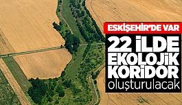 Eskişehir'e 'ekolojik koridor' geliyor