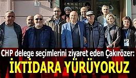 Çakırözer: Demokrasinin nasıl işlediğini mahallelerimizden Türkiye'ye gösteriyoruz